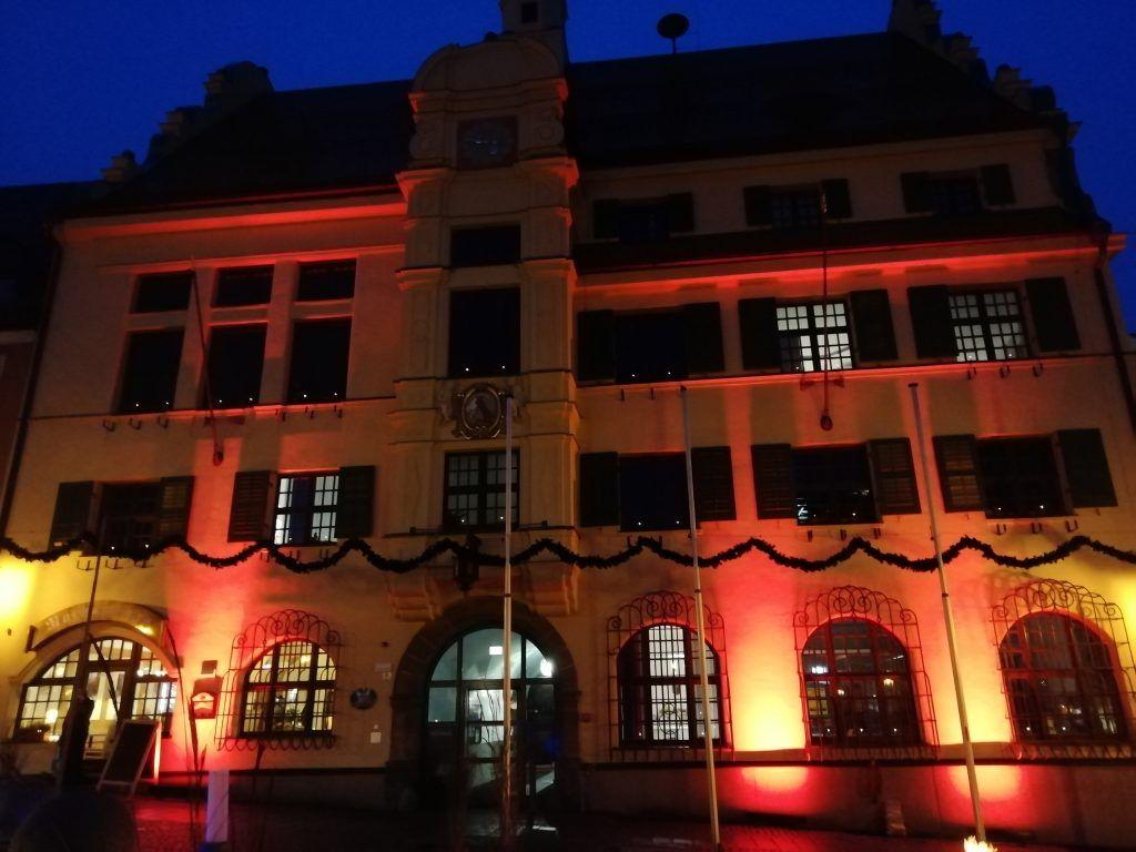 Illumination Rathaus Vohenstrauß